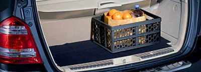 Mercedes Benz Collapsible Shopping Crate