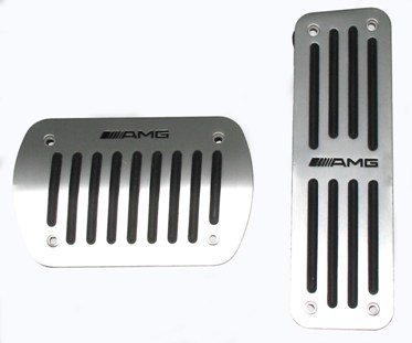 Mercedes Benz C-Class AMG Pedal Pads Mercedes Benz AMG Pedal Pad Set, Amg Pedal Pad Set, Mercedes AMG Pedal Pad Set