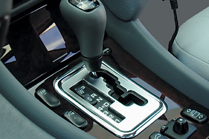 Chrome Gearshift Encasement Set Up to 1999