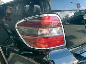 Chrome Tail Light Frames GL