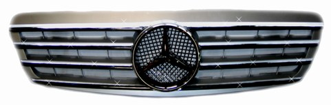 Sport Grille Silver S-Class 2000-2002