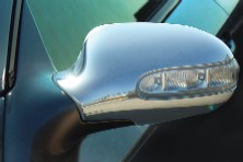 Mercedes Benz SL-Class Chrome Mirror Covers 03 & Up Mercedes Benz Chrome Mirror Cover  SL  03 & up