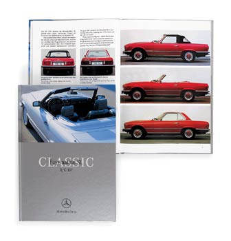 Mercedes Benz SL 107 Book