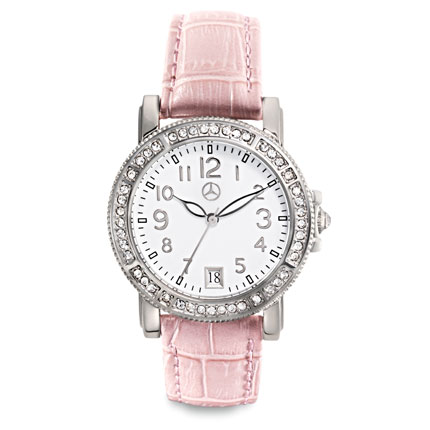 Mercedes Benz Womens Crystal Watch