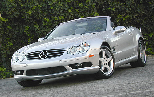 Image gallery sl 500 accessories for Mercedes benz sl 500 2003