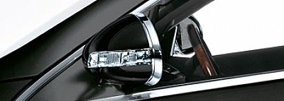Mercedes Benz CL Exterior Chrome Mirror Backs