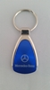 Mercedes Benz Blue Teardrop Keychain