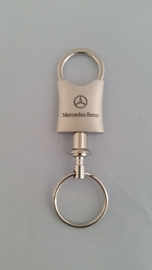 Mercedes benz quick release keychain cg 1584e silver for Mercedes benz keychains