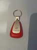 Mercedes Benz Red Leather Keychain