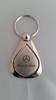 Mercedes Benz Silver Droplet Keychain