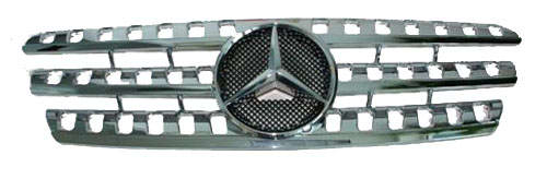 Mercedes Benz ML Chrome Grille Assembly