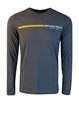Men's AMG Stripe Long Sleeve T-Shirt - AMWM407