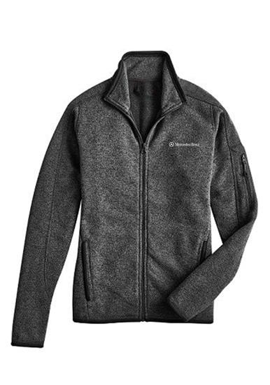 Mercedes benz ladies 39 sweater knit fleece amwl090 for Mercedes benz women s jacket